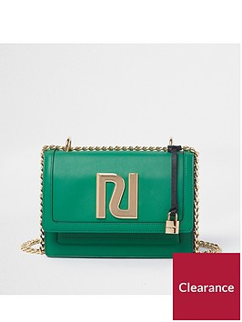 river-island-gold-chain-cross-body-bag-green