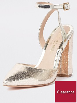 river-island-wide-fit-heels-gold