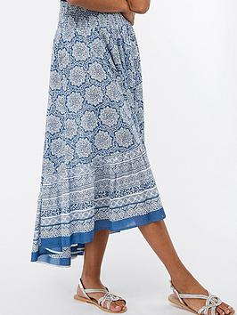 monsoon-leon-print-skirt-blue