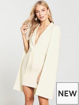 lavish-alice-lavish-alice-gathered-tie-waist-cape-dress-jumpsuit