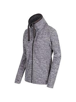 Regatta Zabel Full Zip Fleece Top - Iron