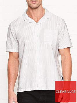 folk-short-sleeve-soft-collar-stripe-shirt-white