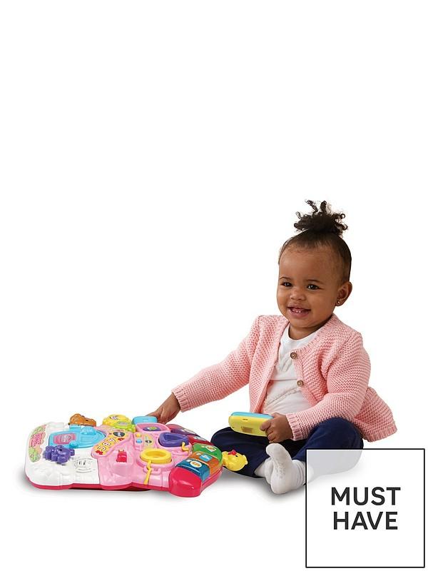 Months VTech First Steps Activity Baby Walker Pink 6