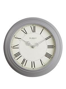 round-metal-deep-case-30-cm-wall-clock-ndash-grey