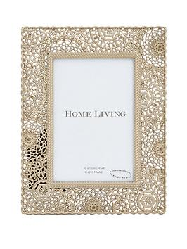 moroccan-collection-gold-painted-metal-photo-frame-ndash-4-x-6-inch