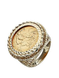love-gold-9-carat-yellow-gold-half-sovereign-mens-ring
