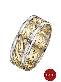 love-gold-9-carat-2-colour-gold-celtic-wedding-band-7mm