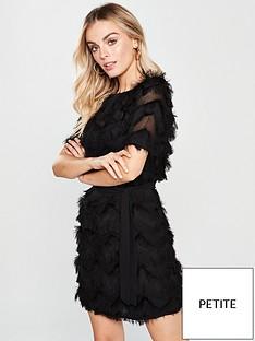 v-by-very-petite-zig-zag-fringe-tunic-dress-black