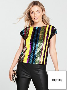v-by-very-petite-stripe-sequin-top-multinbsp