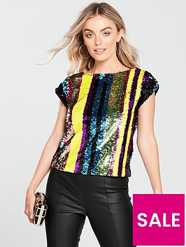 v-by-very-petite-stripe-sequin-top-multinbsp