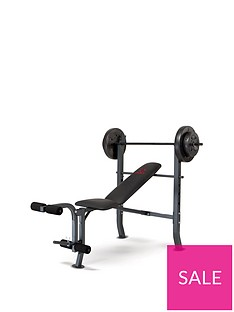 marcy-weight-bench-36kg-weight-set