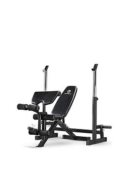 Marcy Deluxe Olympic Weight Bench With Squat Rack