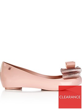 melissa-ultragirl-triple-bow-flat-shoesnbsp--pink