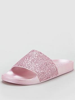 Office Glitter Slider - Pink