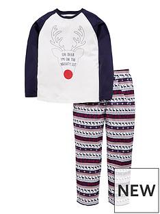mini-v-by-very-unisex-oh-deer-im-on-the-naughty-list-family-christmas-pyjama