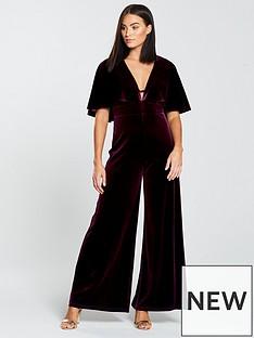 forever-unique-cape-sleeve-jumpsuit-burgundy