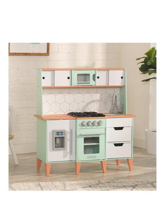 Mid-century modern play Kitchen