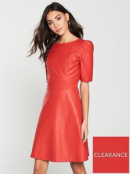 v-by-very-a-line-dress-rednbsp