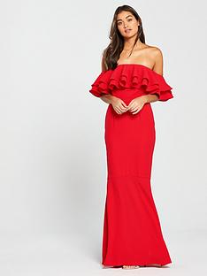 v-by-very-bardot-maxi-dress-red
