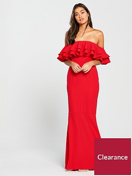v-by-very-bardot-maxi-dress-red