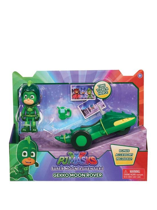 PJ MASKS Super Moon Adventure Gekko Rover Vehicle and Figure  d8c9de5cf0680