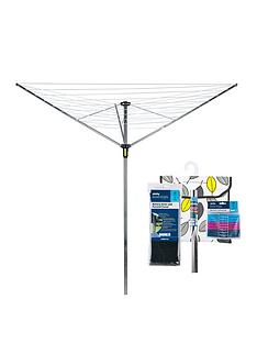 minky-easy-breeze-35-metre-rotary-airer-with-accessory-pack