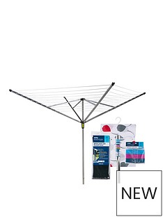 minky-rotary-airer-by-minky-easybreeze-50m-4-arm-with-accessory-pack