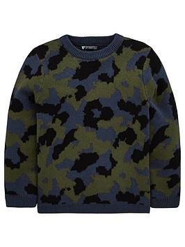 mini-v-by-very-boys-camo-knitted-jumper