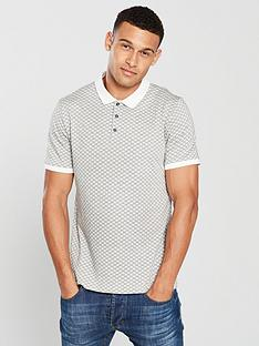 v-by-very-textured-polo