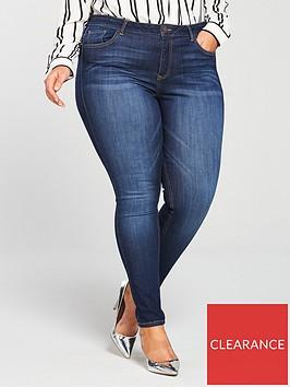 v-by-very-curve-premium-ultrasoft-skinny-jean-dark-wash