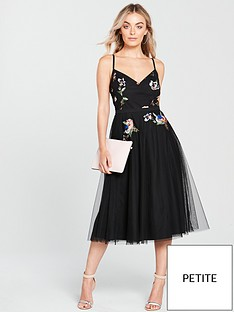 little-mistress-petite-sequin-tulle-dress-black