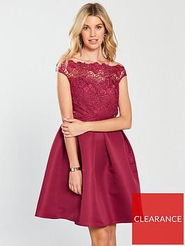 little-mistress-lace-skater-dress-berrynbsp