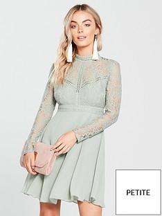 little-mistress-petite-lace-long-sleeve-mini-dress-waterlilynbsp
