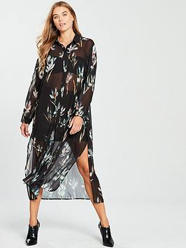 religion-allure-maxi-shirt-print