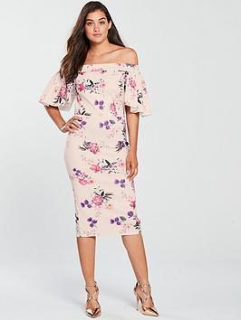 true-violet-true-violet-bardot-floral-scuba-midi-dress-blush