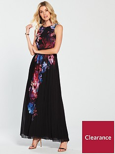little-mistress-floral-placement-print-maxi-multi