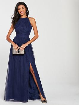 little-mistress-mesh-halter-neck-maxi-dress-navy