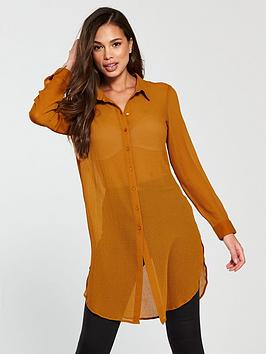vero-moda-hanni-long-sleeve-midi-shirt