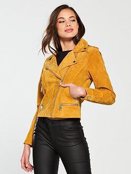 vero-moda-short-suede-jacket