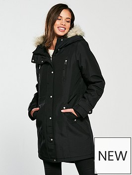 vero-moda-expedition-parka-black