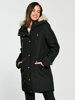 Vero Moda Expedition Parka - Black