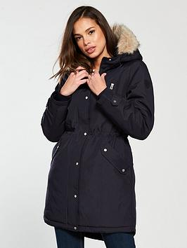 Vero Moda Expedition Parka - Navy