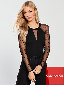 v-by-very-lace-mix-bodysuit-black