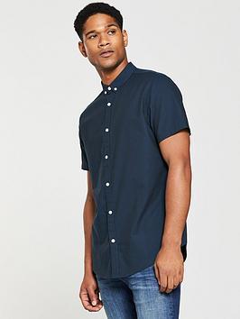 v-by-very-short-sleeved-oxford-shirt
