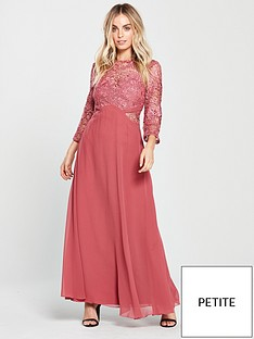 little-mistress-petite-sienna-crochet-maxi-dress-rose