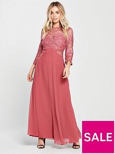 little-mistress-petite-sienna-crochet-maxi-dress-rose