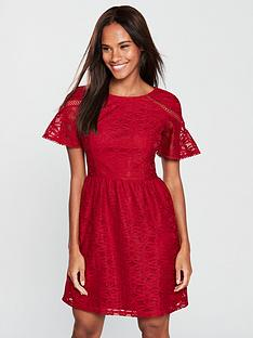 v-by-very-lace-tea-dress-berry