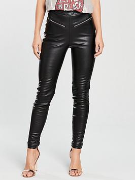 Religion Steel Leggings - Black