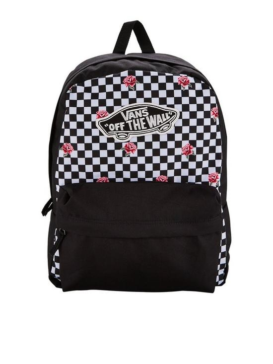 efb56c93215 Vans Realm Backpack - Checkerboard | very.co.uk
