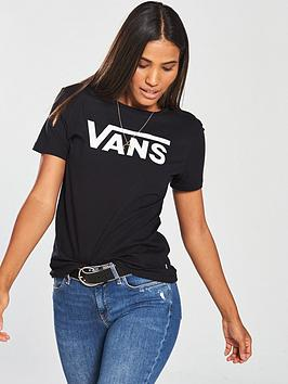 Vans Flying V T-Shirt - Black